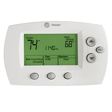 Trane XL600 thermostat.