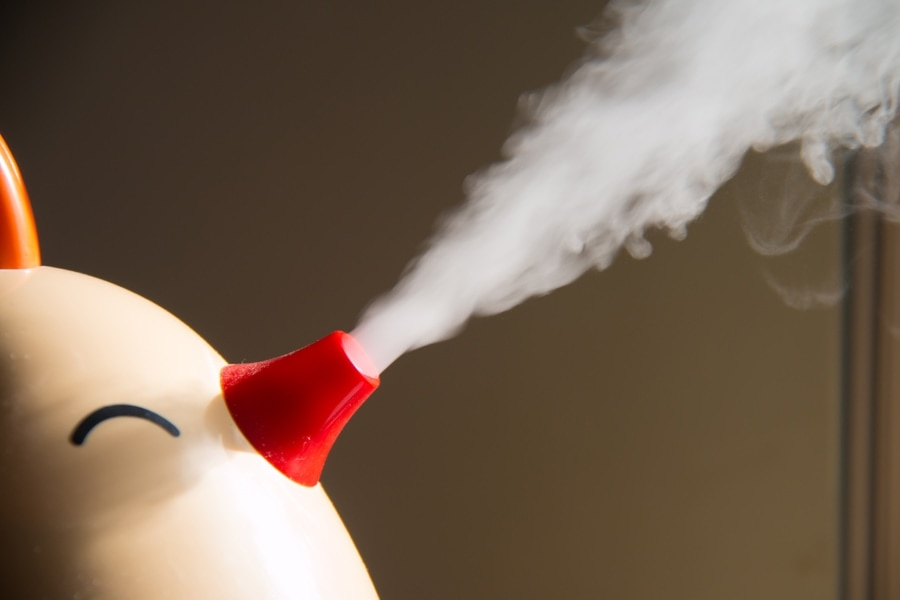 Spray humidifier
