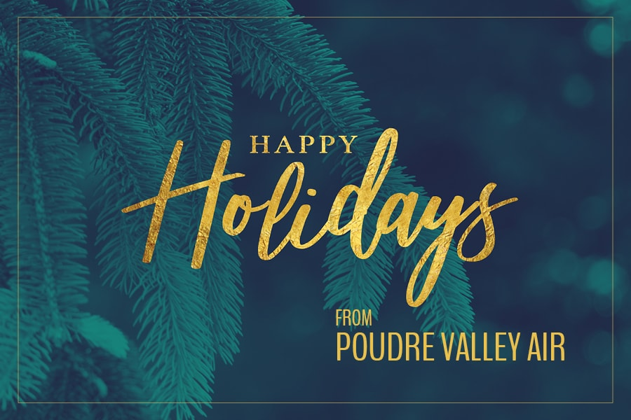 Happy Holidays from Poudre Valley Air