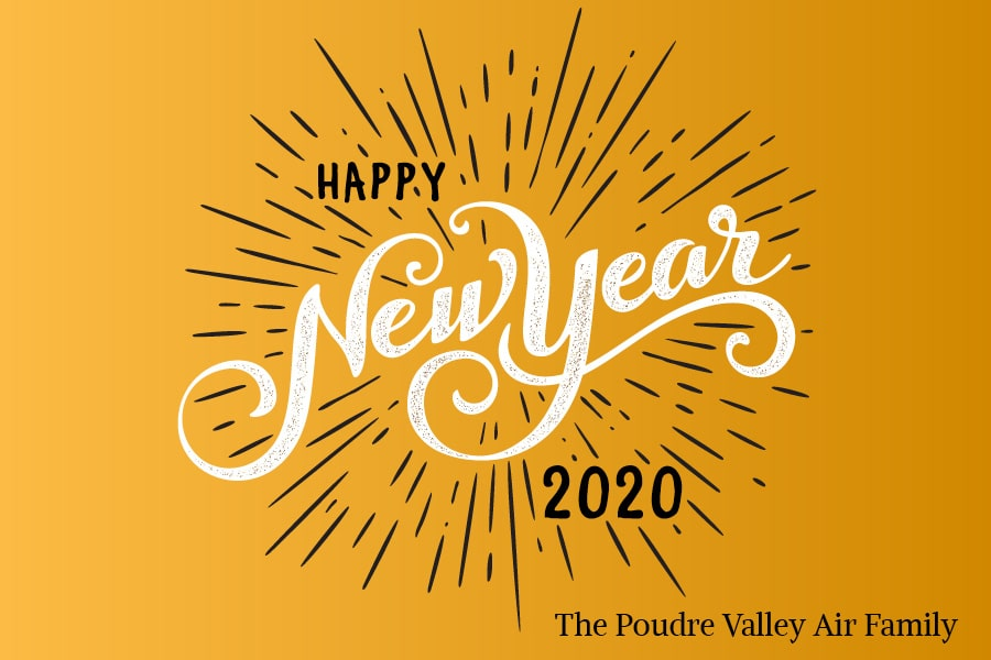 Happy New Year from Poudre Valley Air