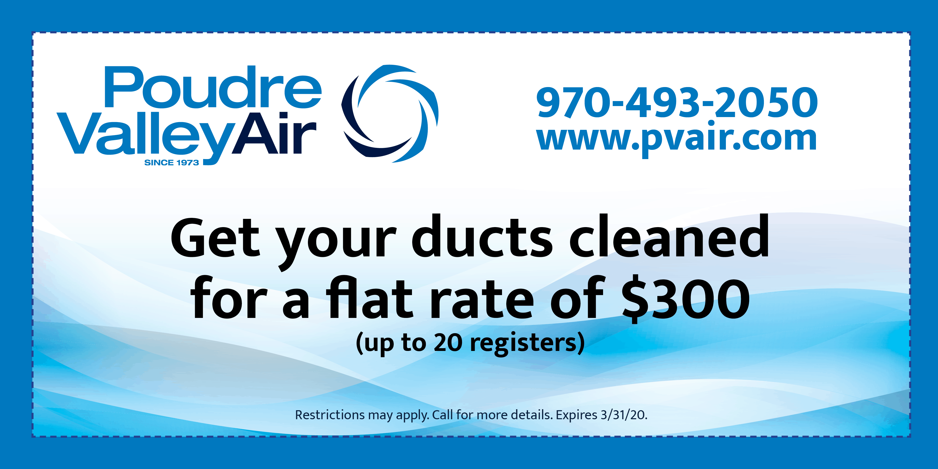 PVA Duct cleaning.
