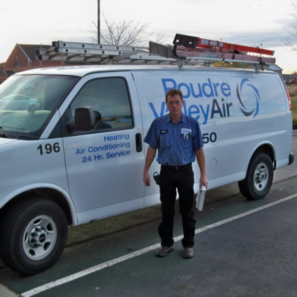 Poudre Valley Air technician.